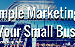 8 Simple Marketing Tips for Your Small Business