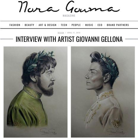 Nora Gouma Magazine