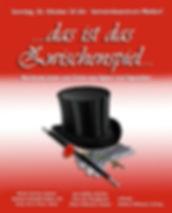 """Beate Gartner Sopran: Konzertplakat """"…das ist das Zwischenspiel …"""" – Berühmte Arien aus Opern und Operetten"""