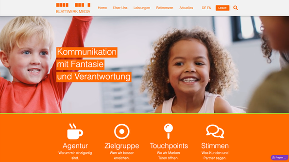 Blattwerk Media Screenshot