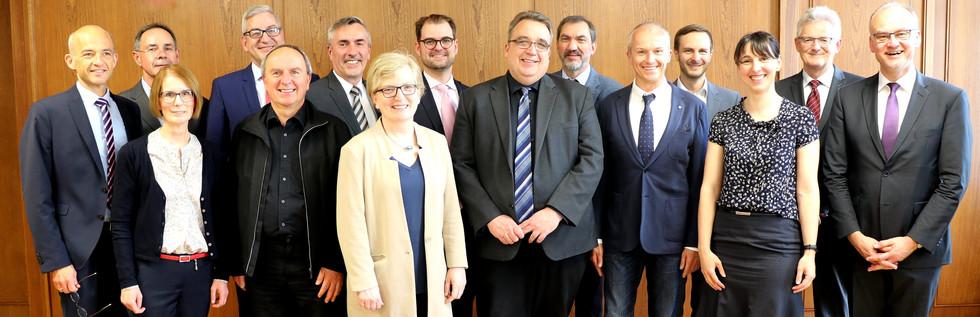 Gruppenbild zur Gründungsversammlung des DHSD am 25. Mai 2019