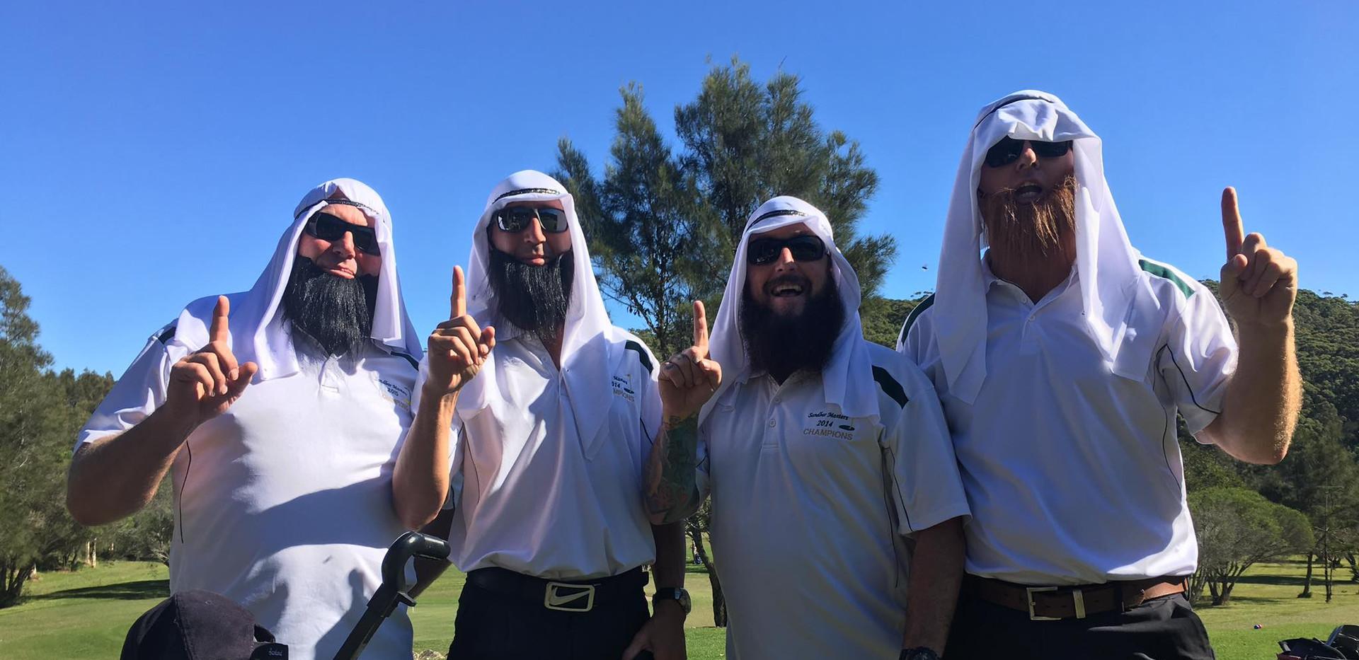 The sheiks 2017