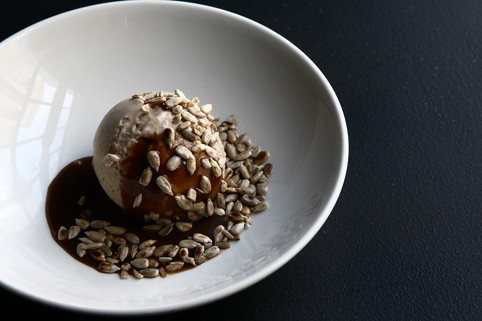 sunflower seed ice cream
