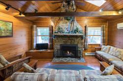 Rockcliffe Cottage Fireplace