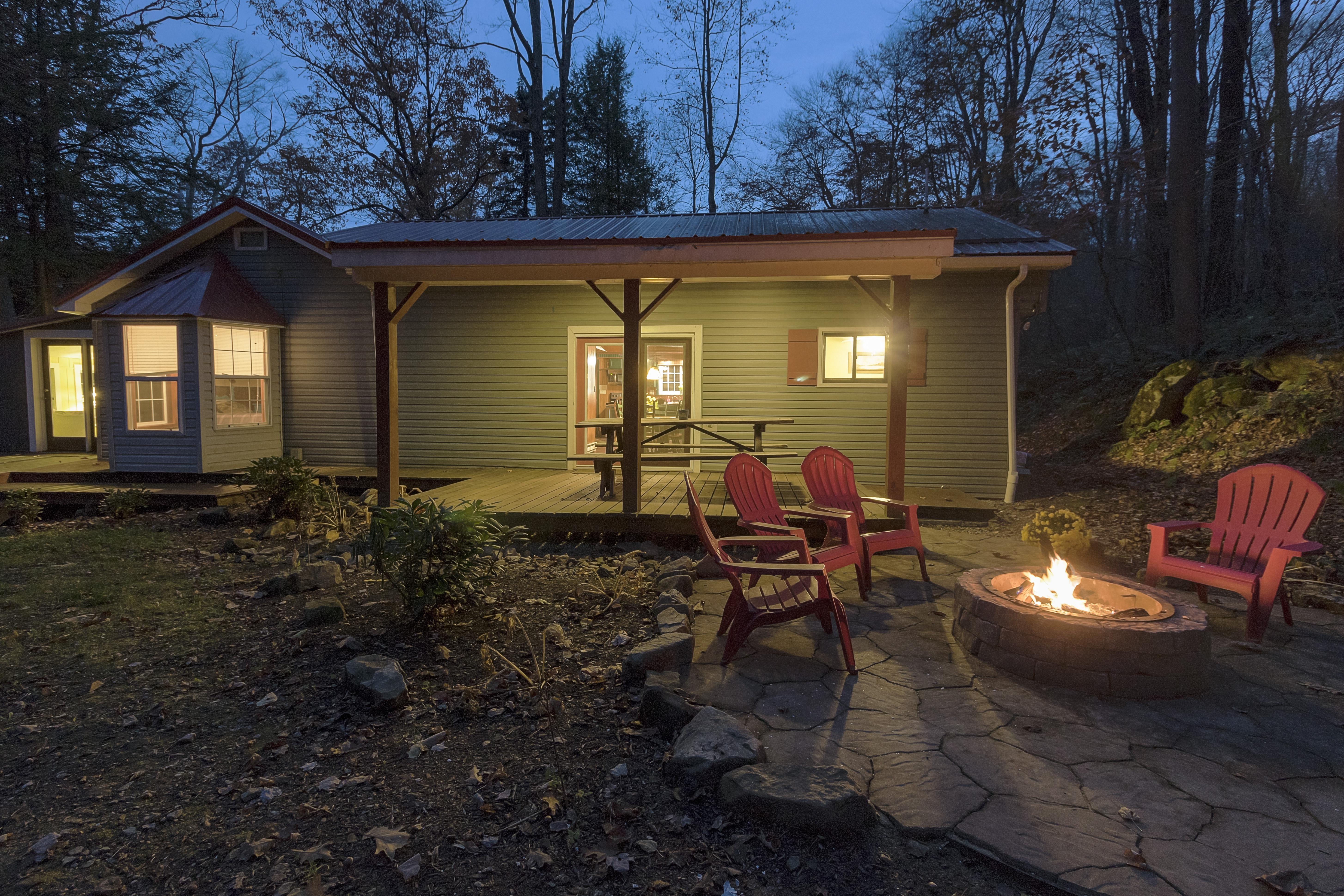 Rockcliffe Cottage Firepit