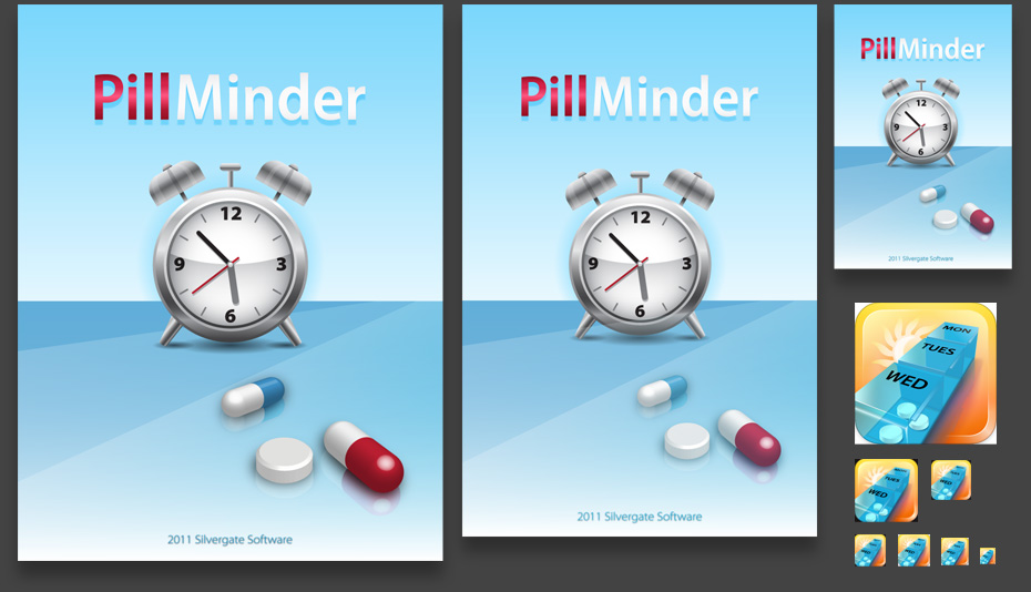 Pillminder screens