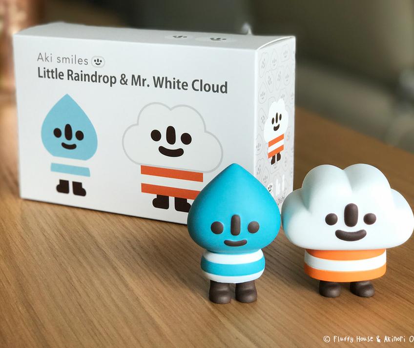 Little Raindrop & Mr. White Cloud