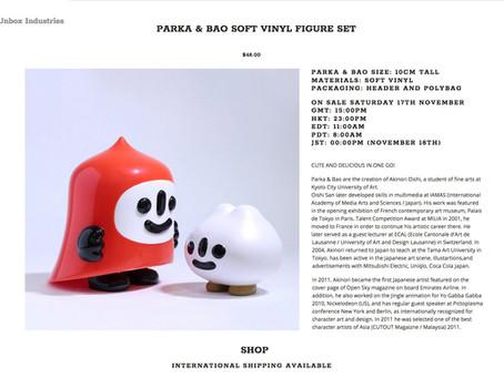 """""""Parka & Bao"""" on sale"""