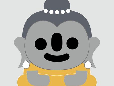 Aki trip to meet Buddha in Bangkok 2019