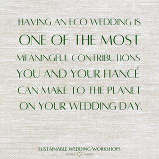 inspirational eco wedding quotes