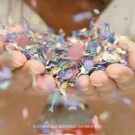 biodegradable eco wedding conffeti