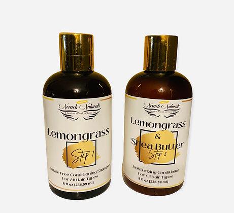 Lemongrass Shampoo & Conditioner Set