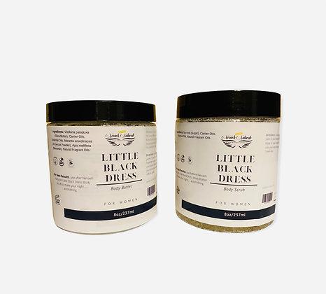 Little Black Dress Body Scrub & Butter Set