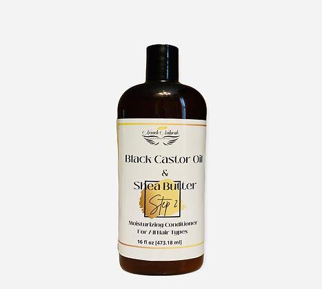 Black Castor Oil & Shea Butter Moisturizing Conditioner