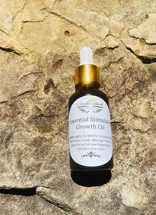 1 oz- 7 Essential Stimulating Growth Oil