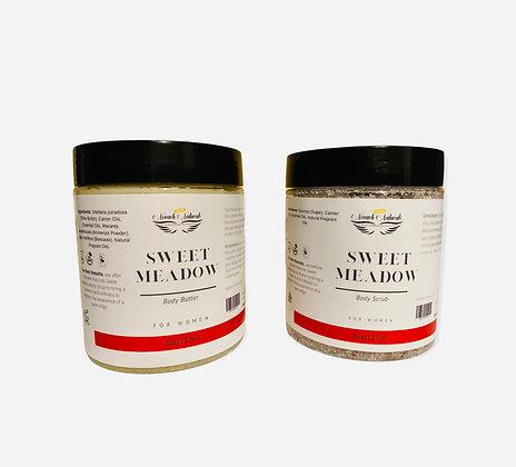 Sweet Meadow Body Butter & Scrub Set