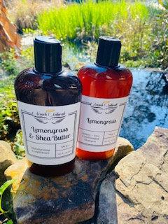 16.8 oz Lemongrass Shampoo & Conditioner Set