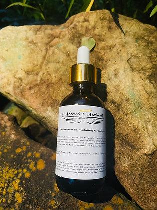 2 oz- 7 Essential Stimulating Growth Oil