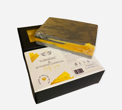 Turmeric & Activated Charcoal Body Soap