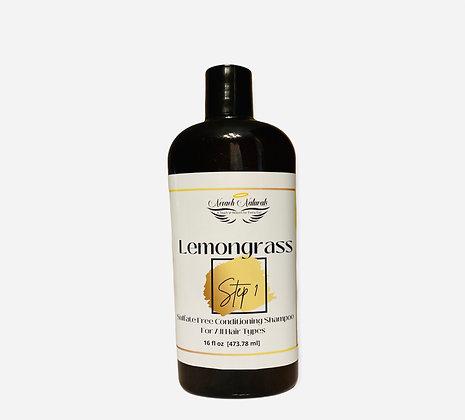 Lemongrass Sulfate Free Conditioning Shampoo