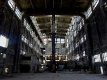 ...eine große Chemiefabrik, die 1999 ihren Tod fand..
