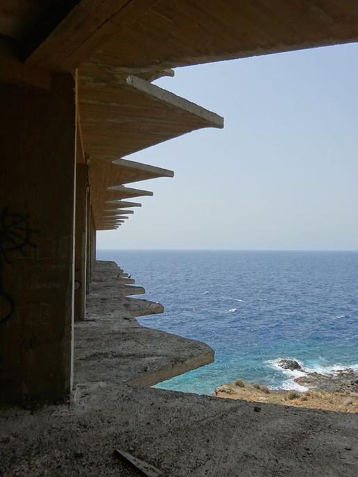 ...Zimmer mit Balkon und Meerblick...
