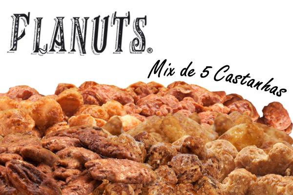 Flanuts ® Mix de 5 Castanhas