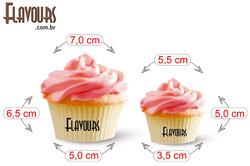 Cupcake - Medidas