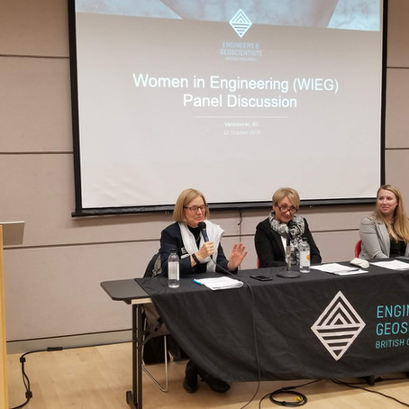 Summary of EGBC's Women in Engineering and Geoscience Panel Discussion, 22 Oct 2018