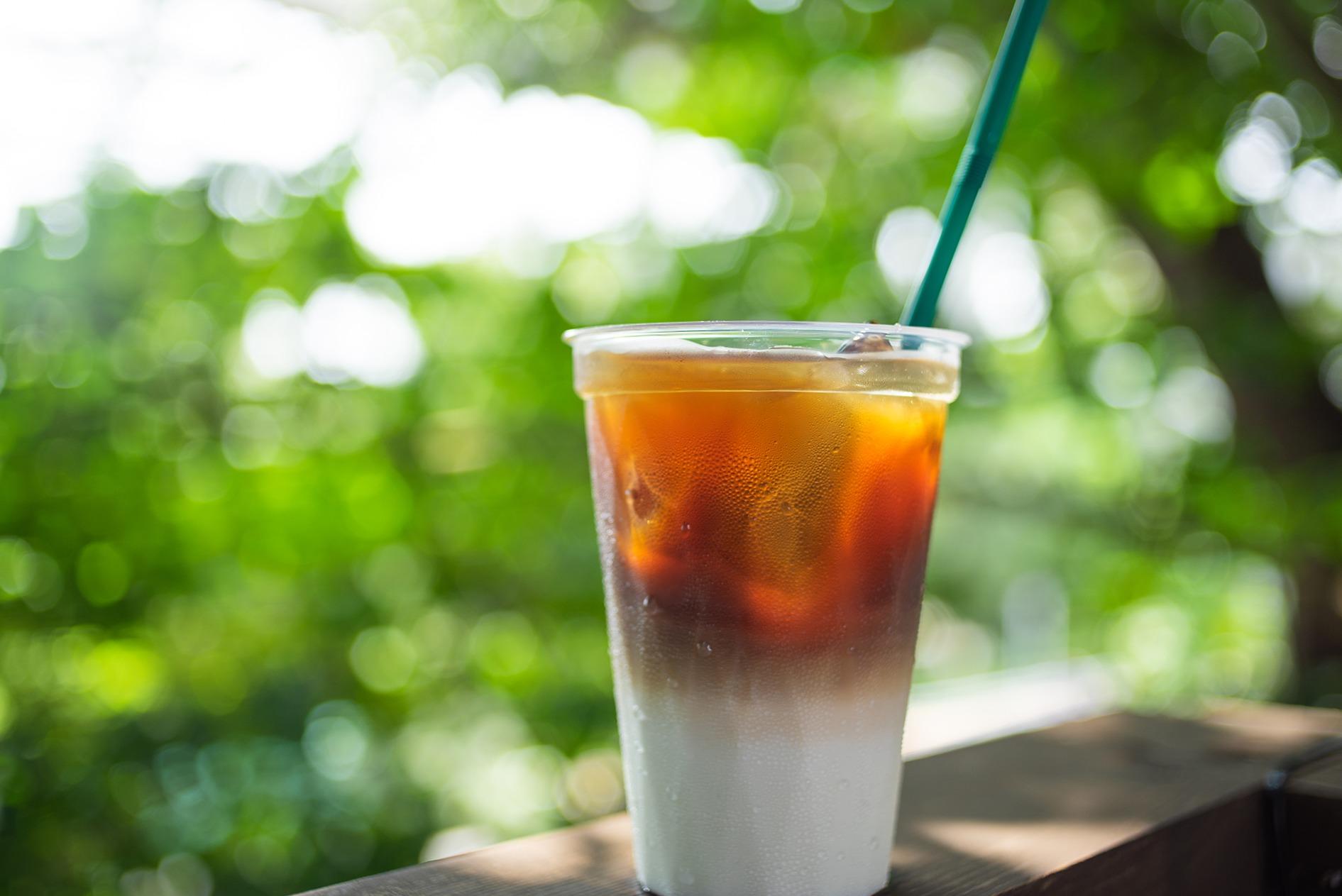 カフェオレ(HOT/ICE) ¥390