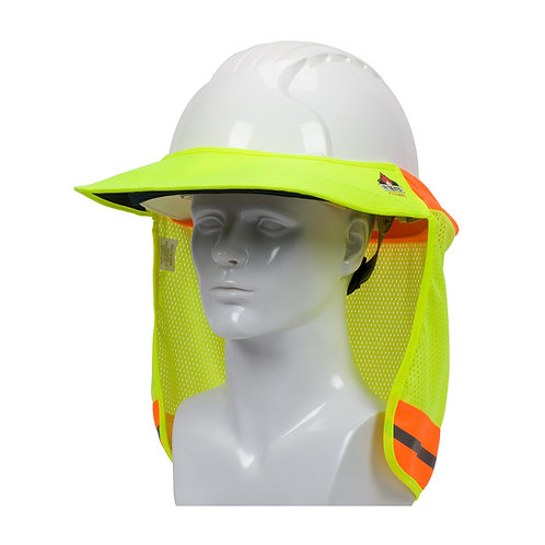 PIP EZ-Cool  FR Treated Hi-Vis Hard Hat Visor and Neck Shade