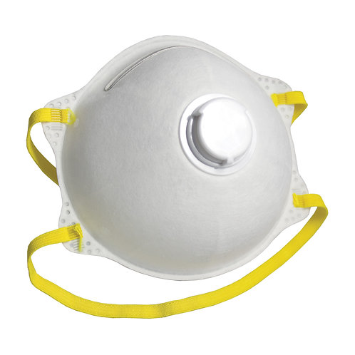 N95 Cone Respirator with Valve  10 Masks/Box