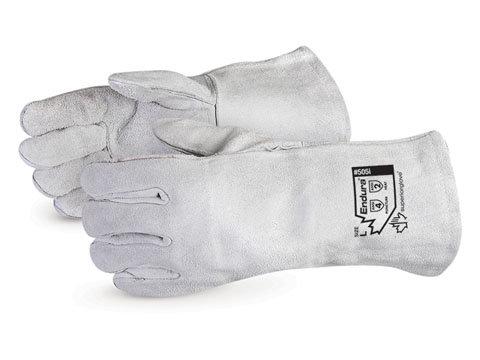 505Q Grey Split Welders Glove