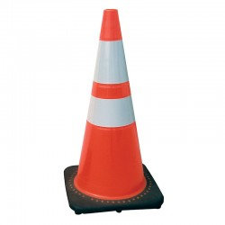 """28"""" Safety Cone with Reflective Bar"""