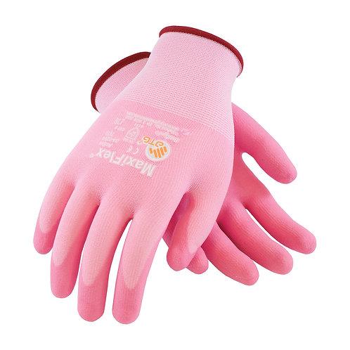 MaxiFlex® Active   Pink Foam Nitrile with aloe vera