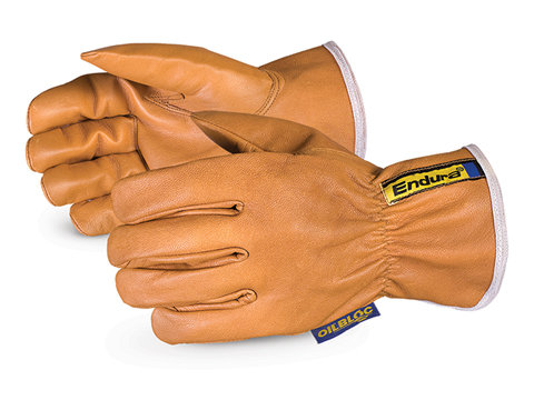 Endura® Kevlar ® -Lined Waterstop  /Oilbloc  Goat-Grain Arc-Flash Drivers Glove