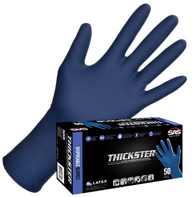 Thickster Latex Disposable Glove (Powder-Free)