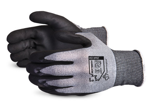SUPERIOR S13PNT Dexterity® 13-gauge Nylon Glove with Micropore Nitrile Palms