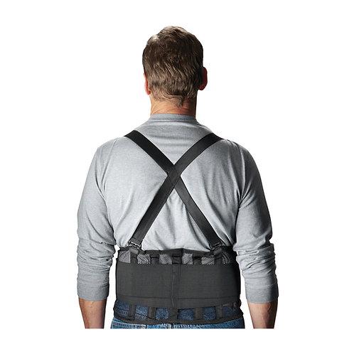 Black Mesh Back Support Belt