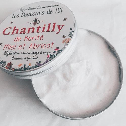 Chantilly de karité Miel & Abricot-Corps et cheveux