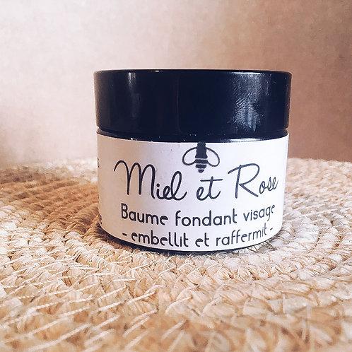 Baume fondant Miel & Rose -visage