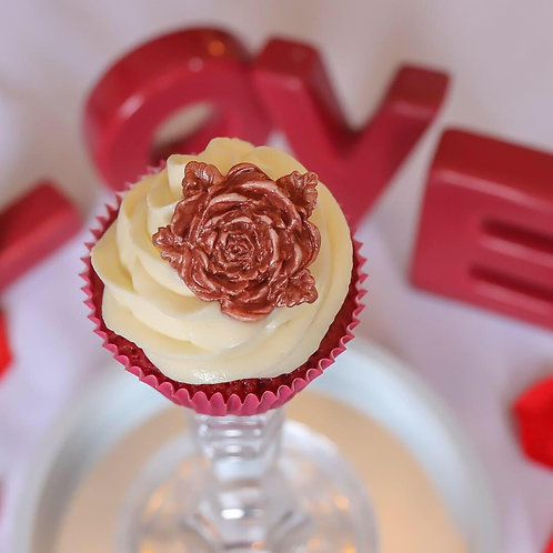 Sweet Rose Cupcake Box
