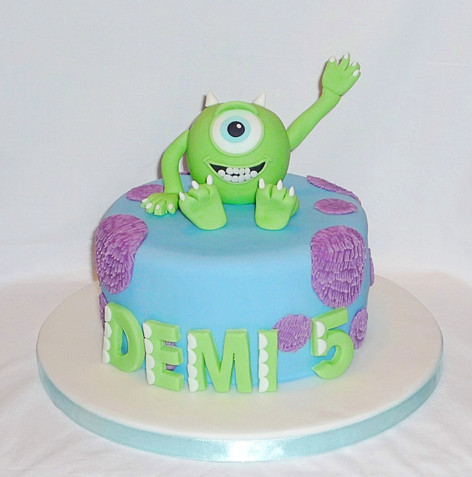 Monster's Inc Mike Cake