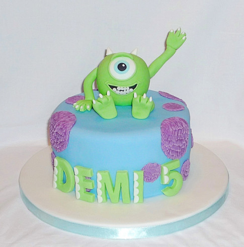 Monster's Inc Mike Cake