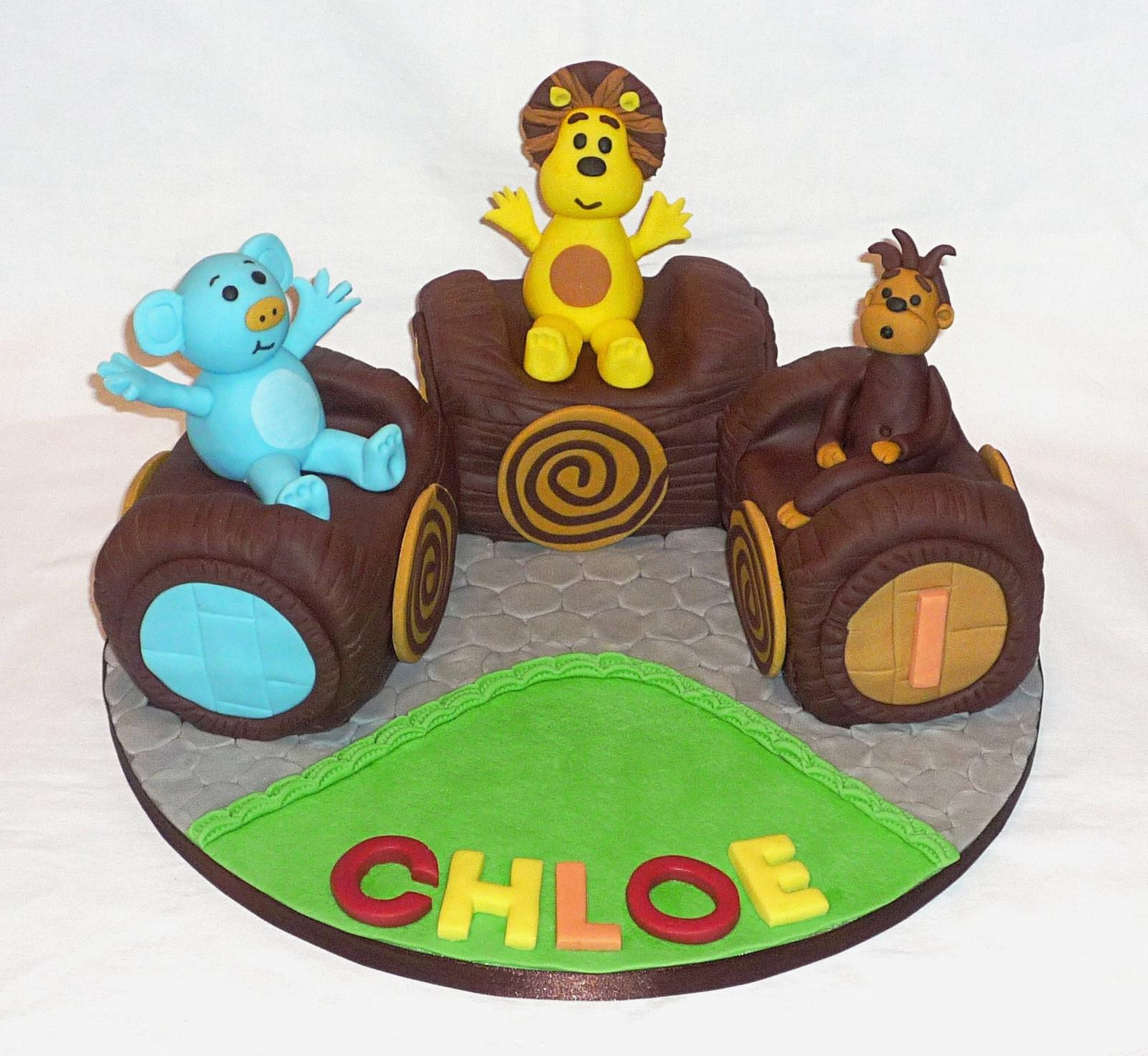 Raa Raa Train Birthday Cake