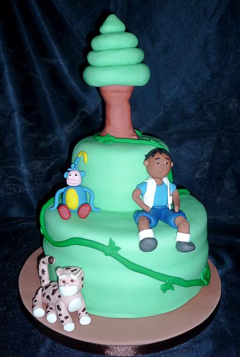 Diego and Dora Cake
