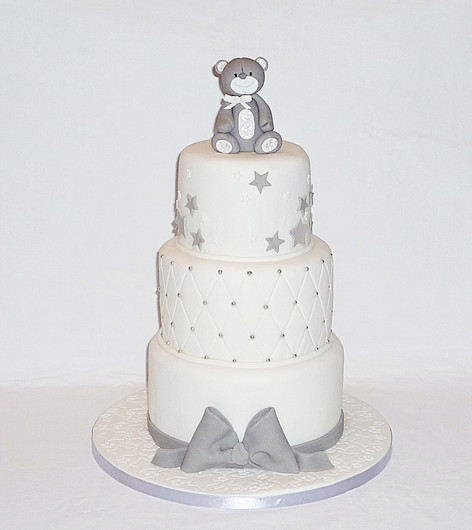 Little Bear Baby Cake