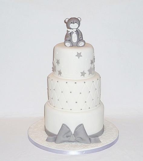 Little Bear Baby Shower Cake