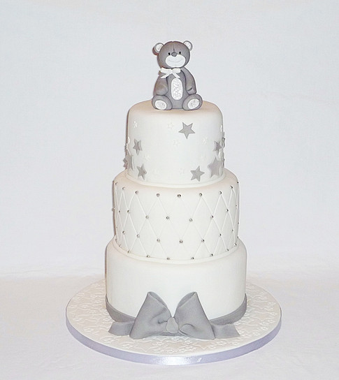 Little Bear Baby Shower Cake