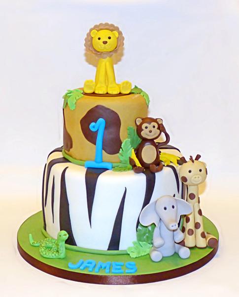 James Jungle Safari cake